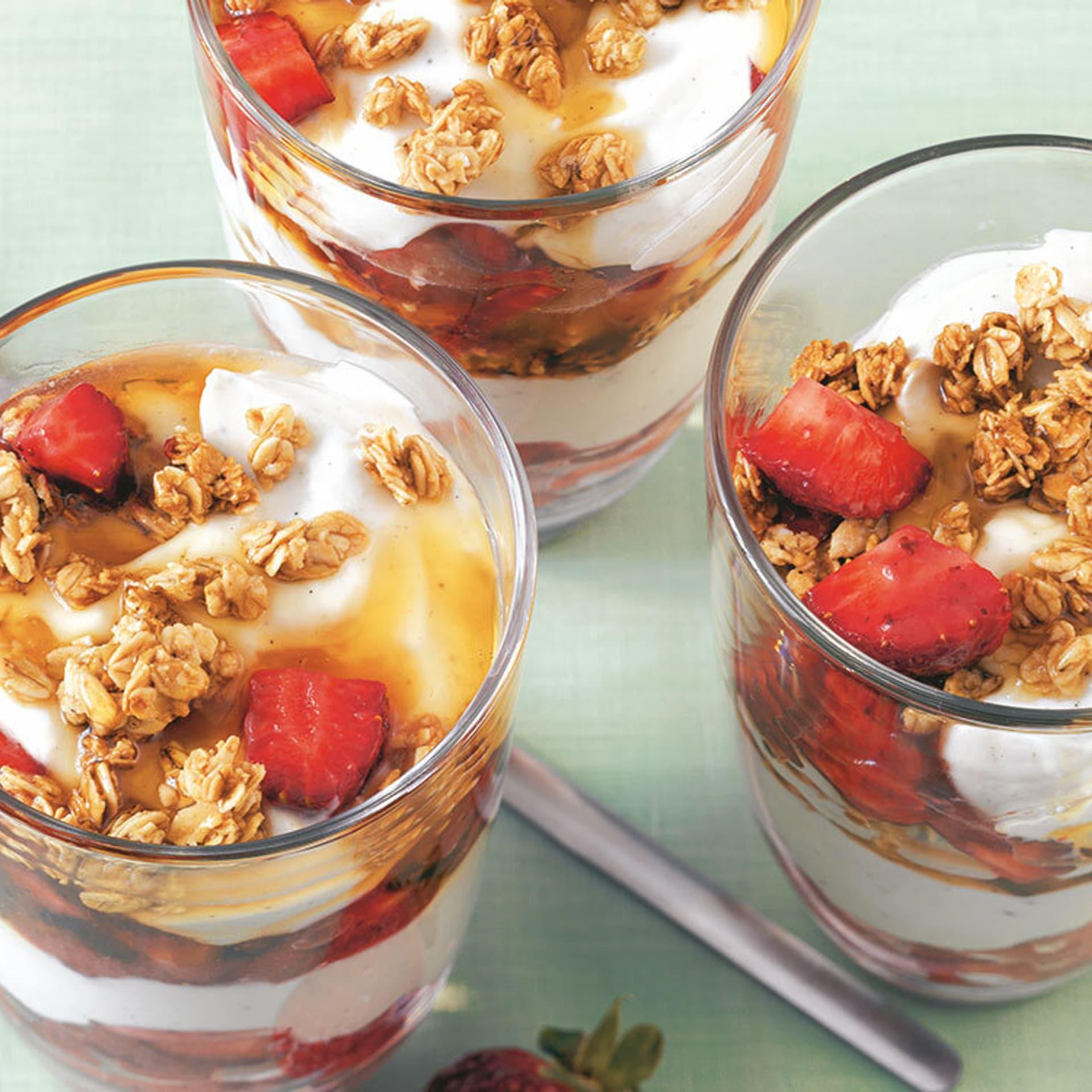 Erdbeer-Mascarpone-Trifle