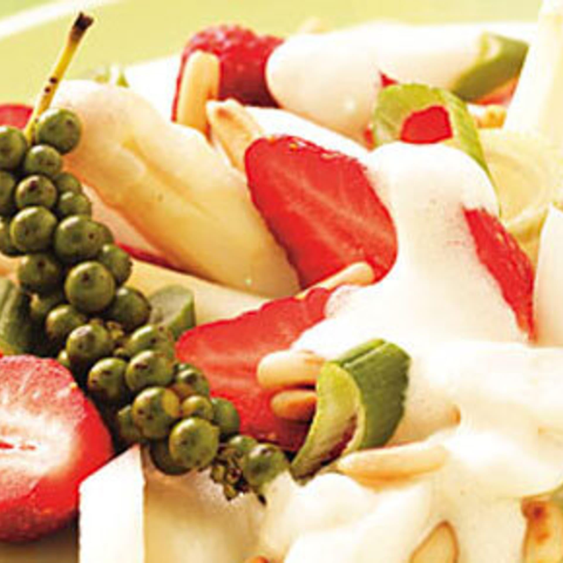 Erdbeer spargelsalat