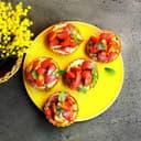 Erdbeer-Vanille-Tartelettes