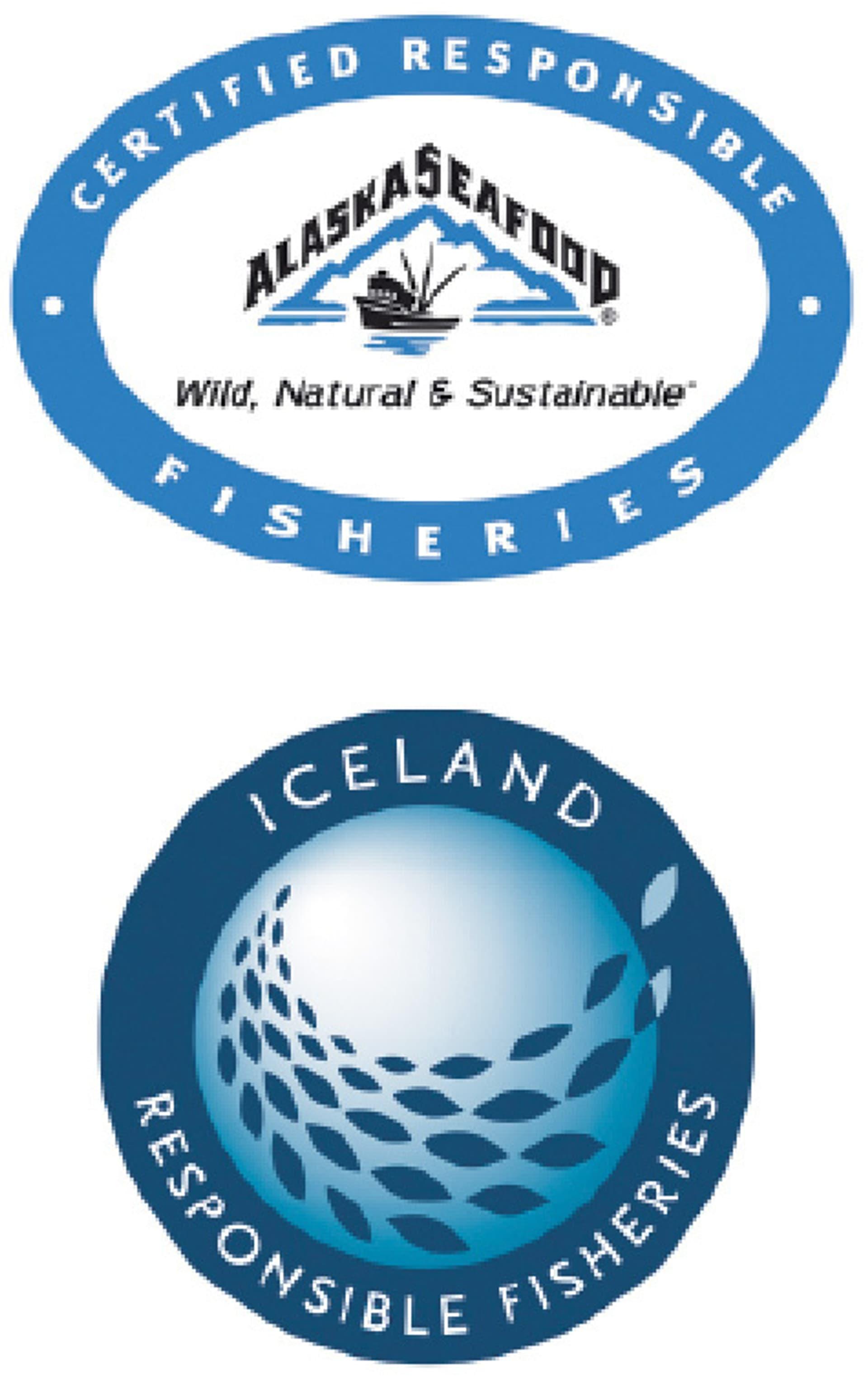 Wie gut sind die Fish-Labels Alaska Seafood Marketing Institute und  Iceland Responsible Fisheries?
