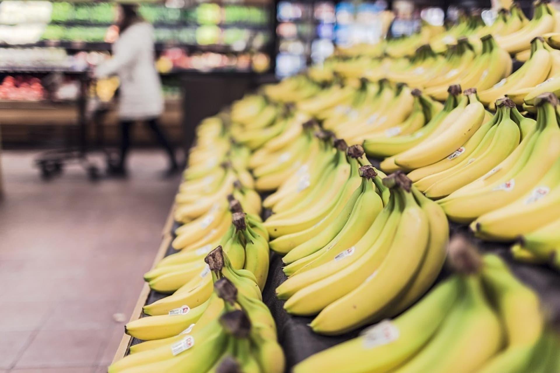 Bananen Supermarkt Discounter c Pixabay Stock Snap