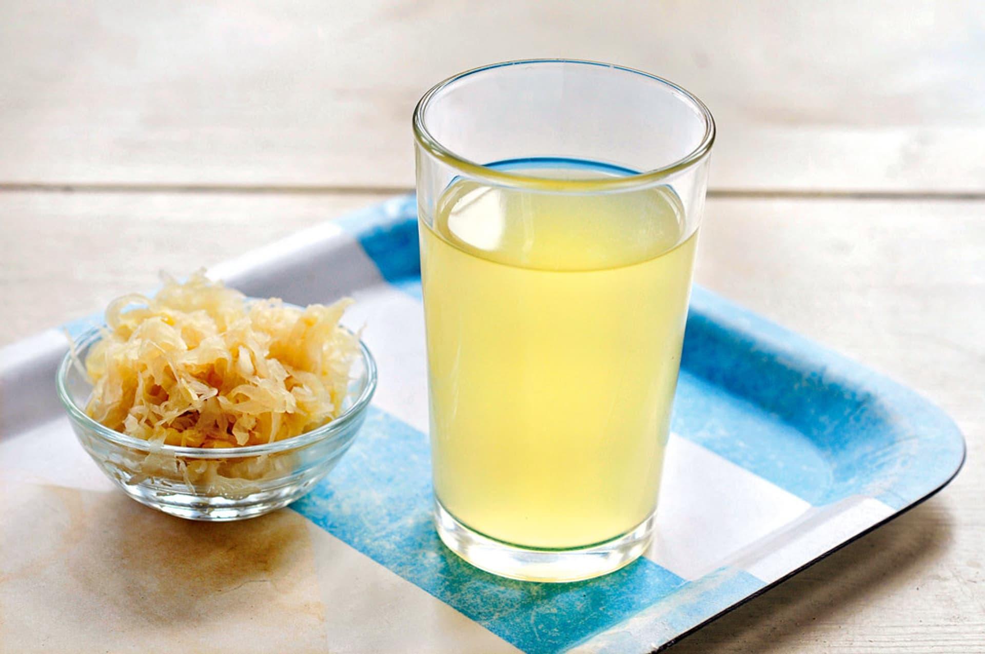 Sauerkraut und Sauerkrautsaft