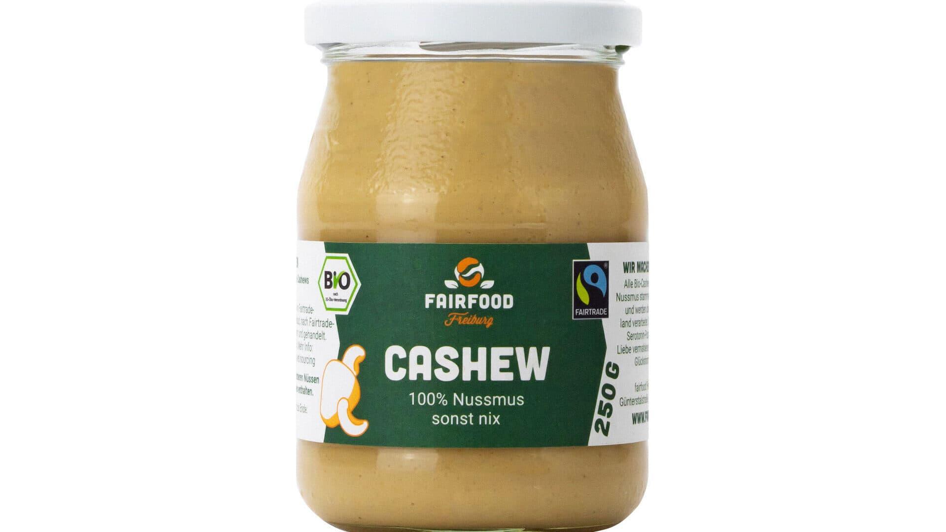 Cashew Mus von Fairfood