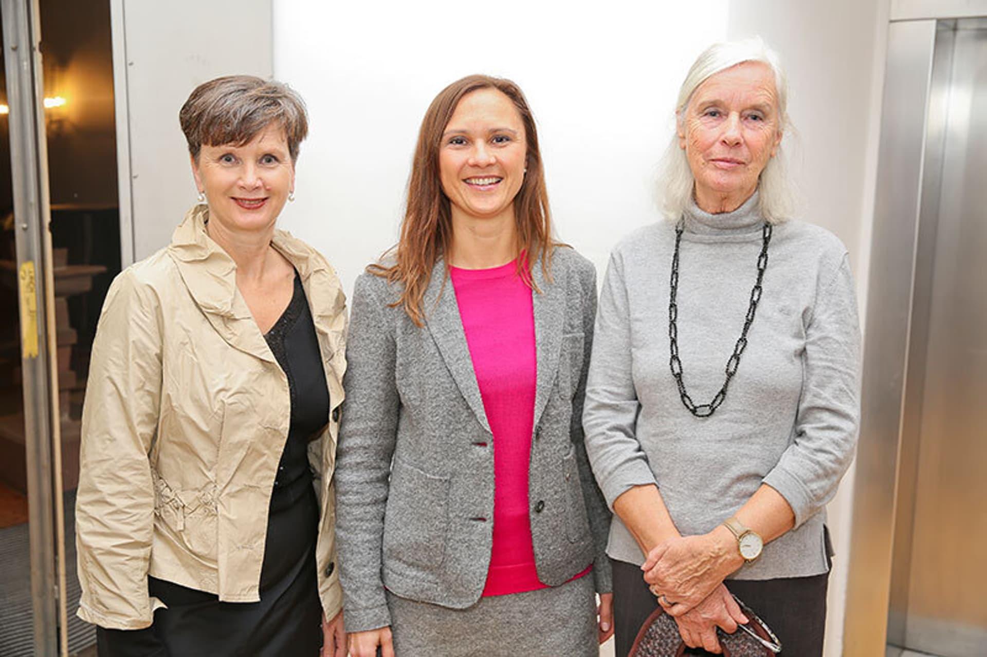 von links nach rechts Angelika Lindner, Anika Kostelnik, Felicita Thalheim; Leserinnen bei der Bestes Bio 2020 Gala