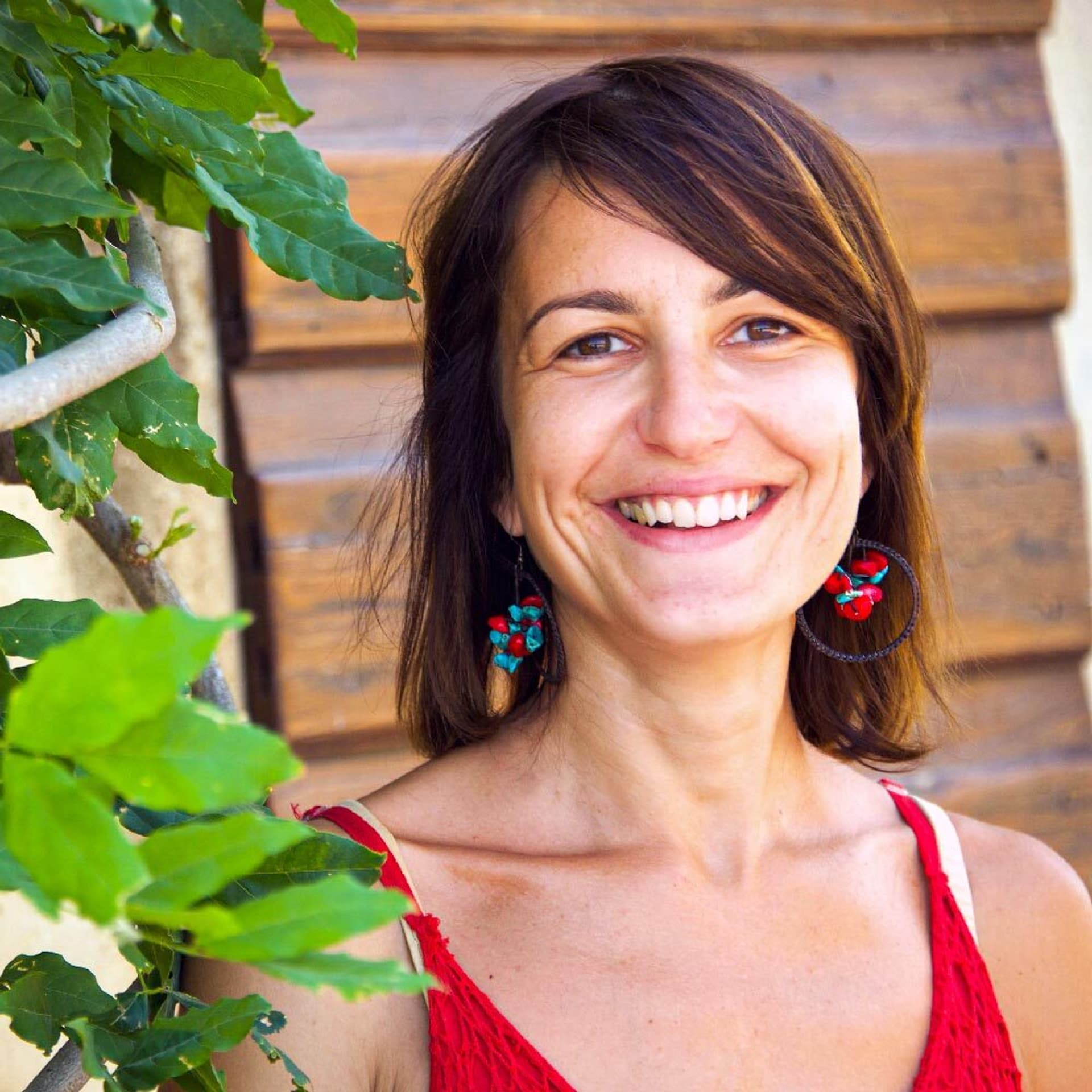 La Selva Mitarbeiterin Pamela Stella Portät für Kornblume