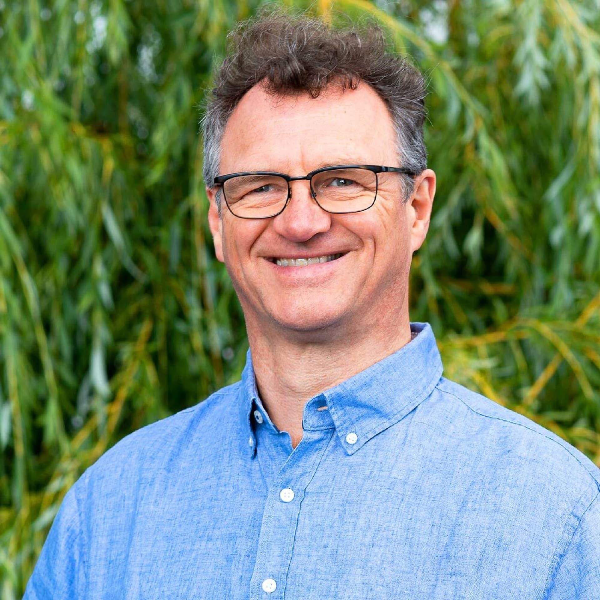 Portrait Patrik Mueller von Ökoland für Bogners Bio
