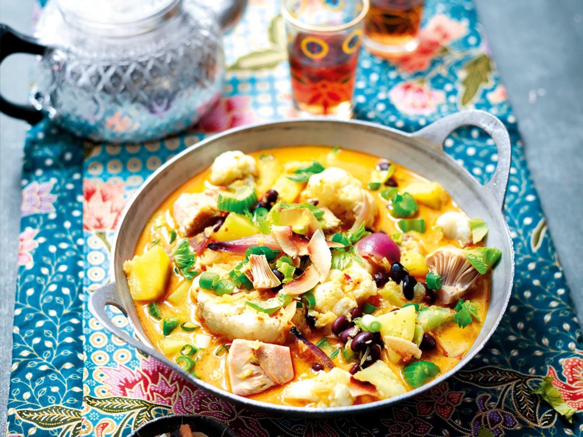 Gelbes Curry mit Kokos