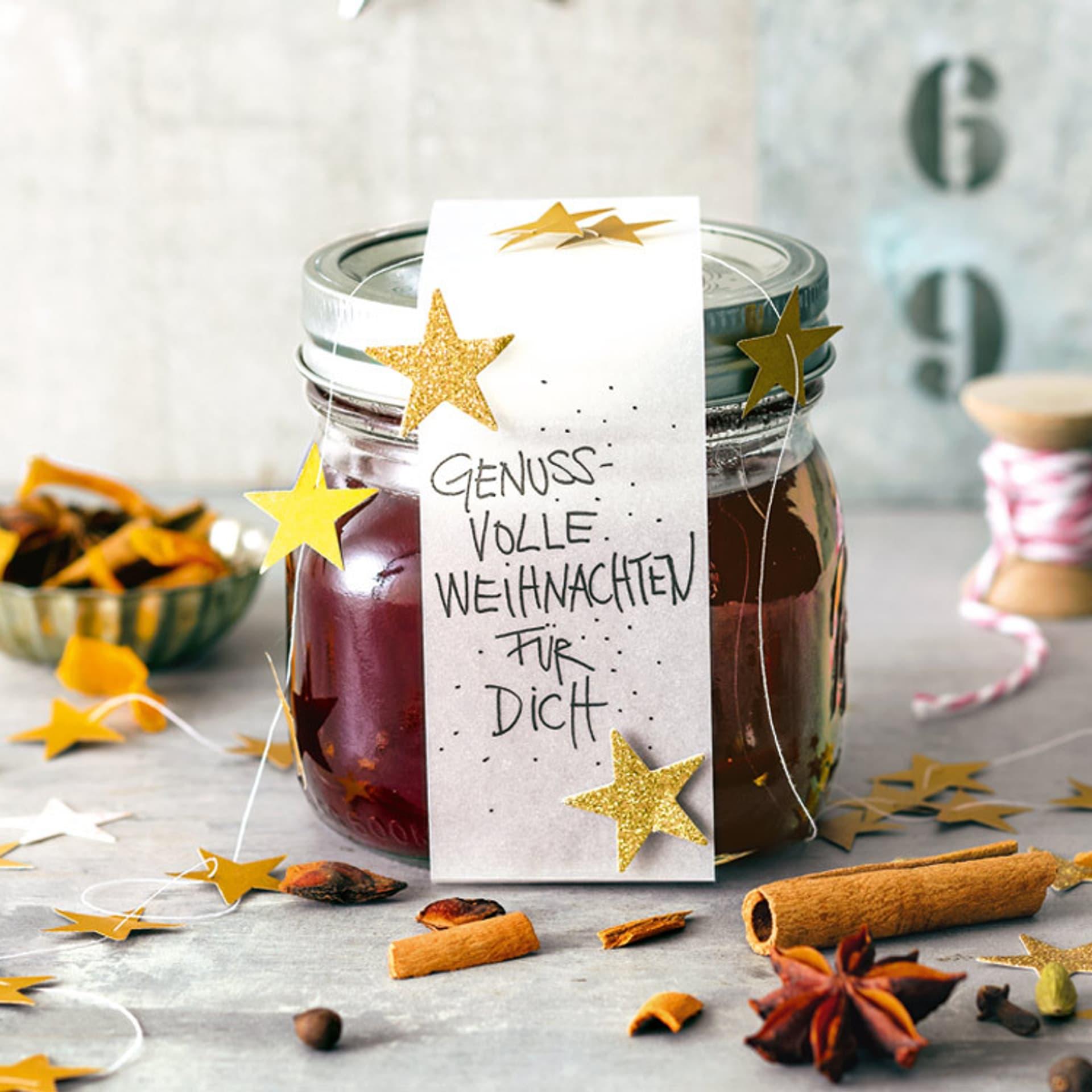 Glühwein-Cranberry-Gelee