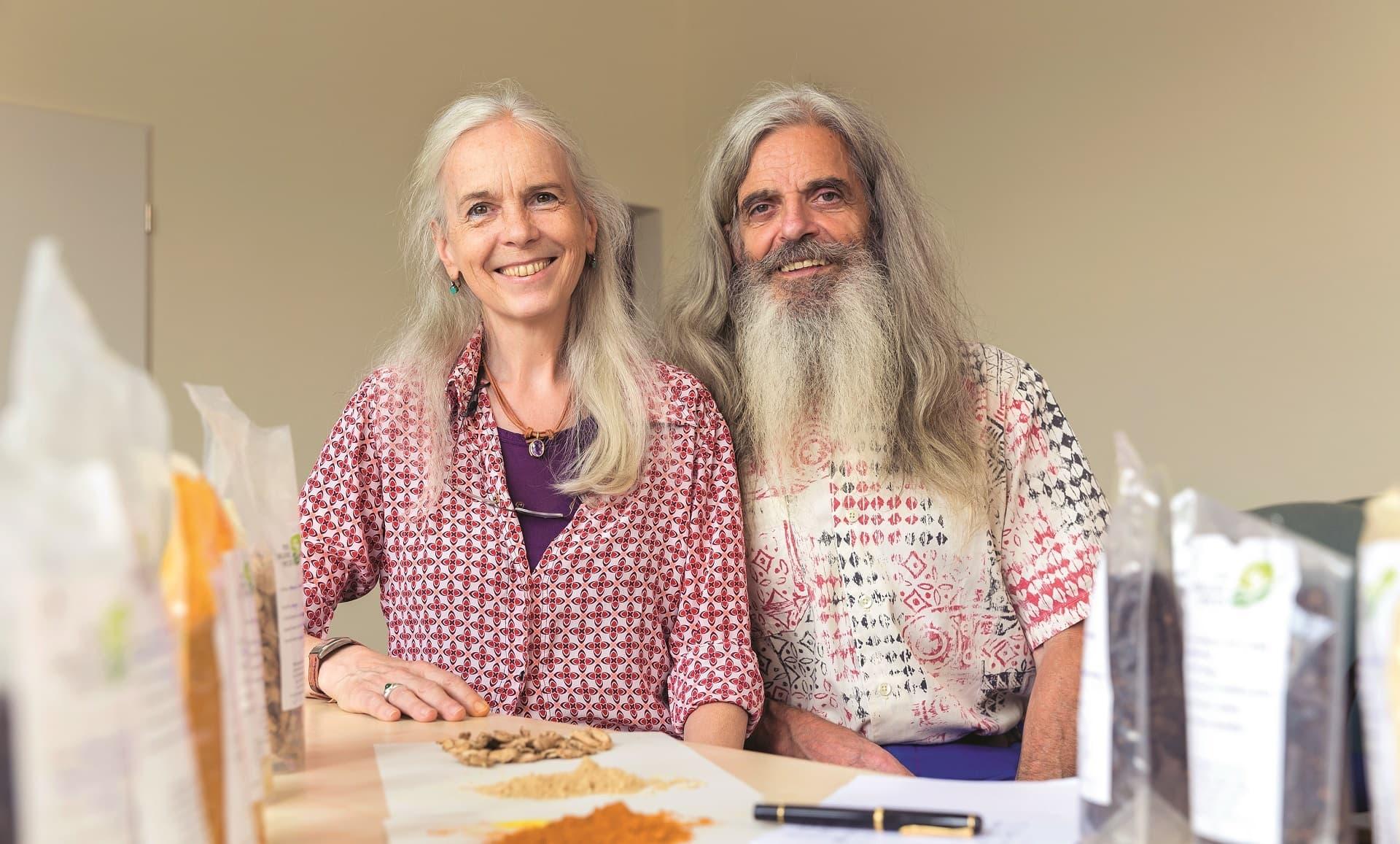 Ursula Stübner und Heinz-Dieter Gasper