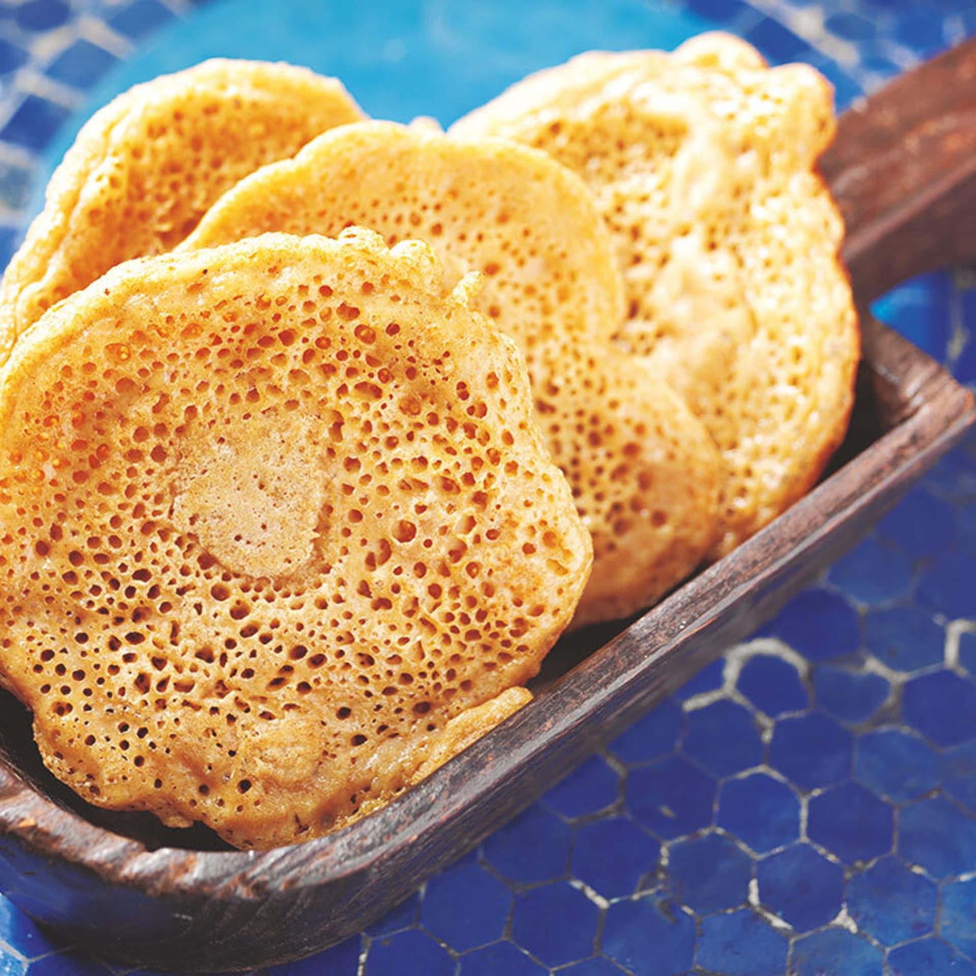 Injera – gesäuerte Pfannkuchen