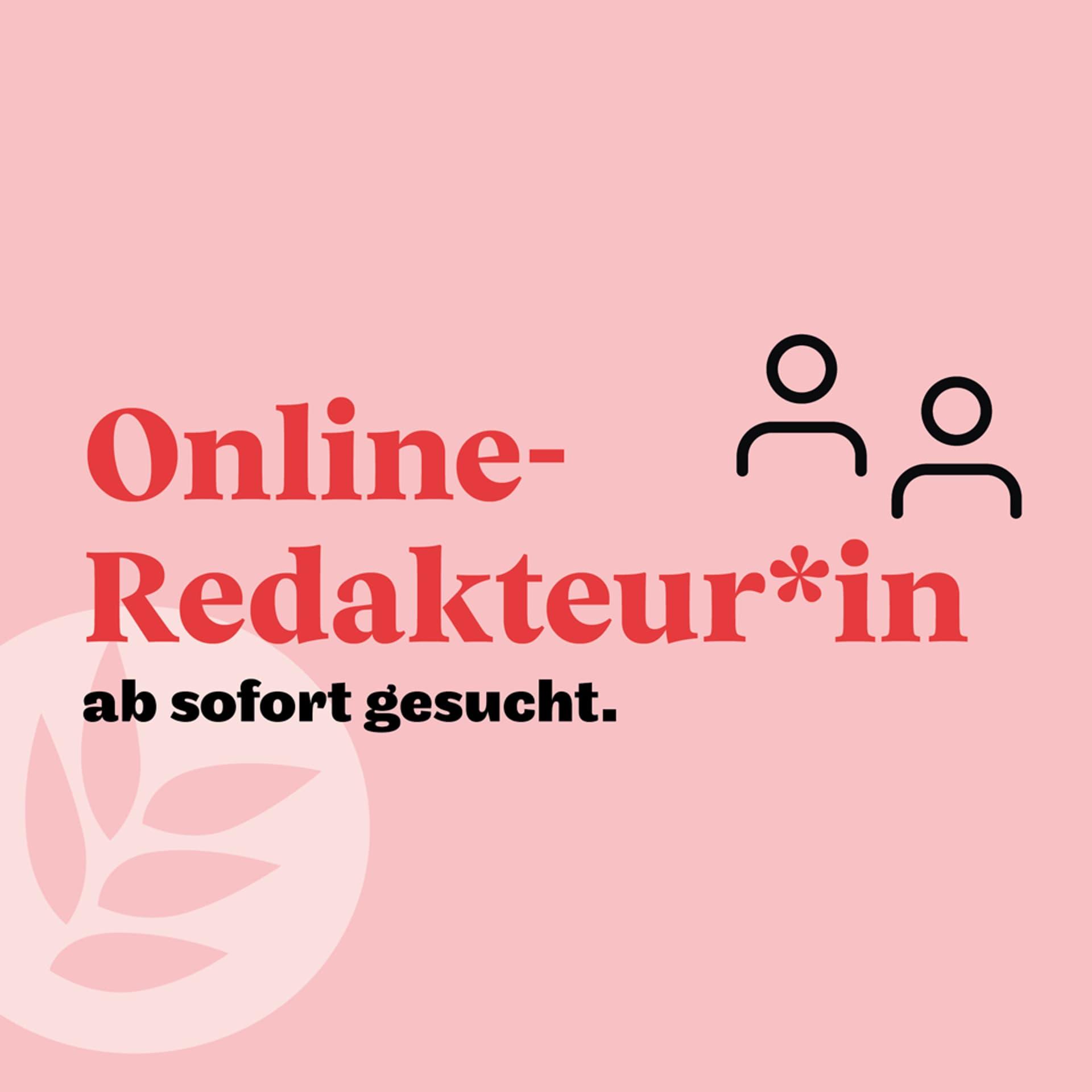 Stelle Online-Redaktion