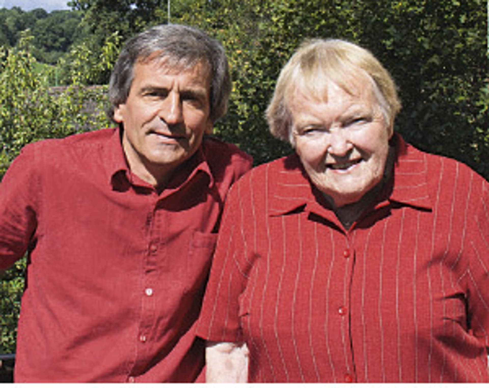 Manfred Loosen und Gudrun Pausewang (Foto: Privat)
