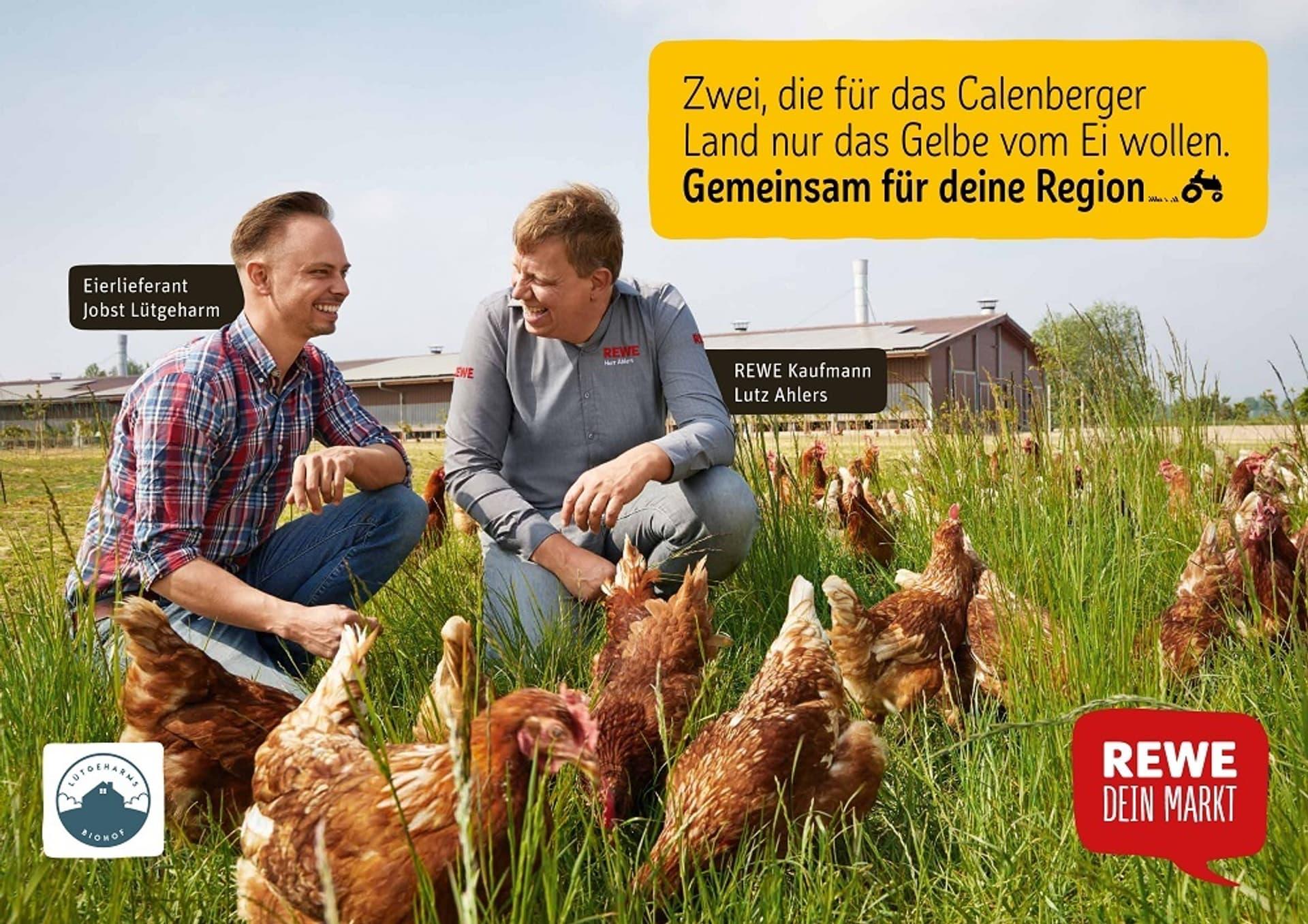 Rewe gemeinsam fuer deine region kampagne c rewe
