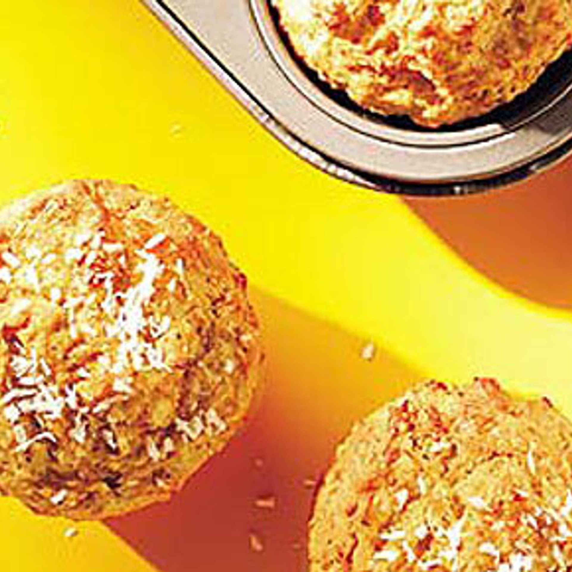 Karotten muffins mit hirse und weizen