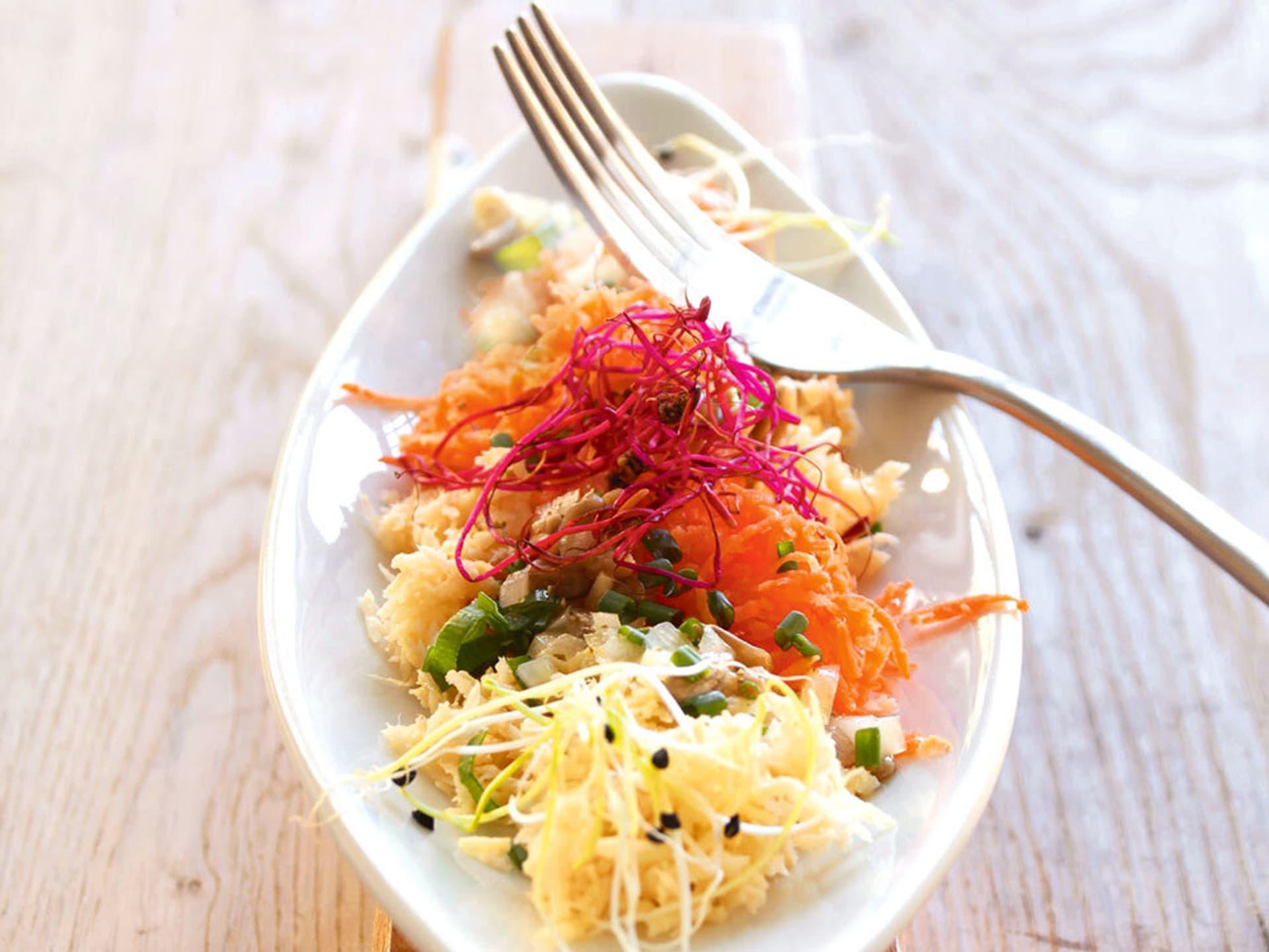 Karotten-Pastinaken-Salat