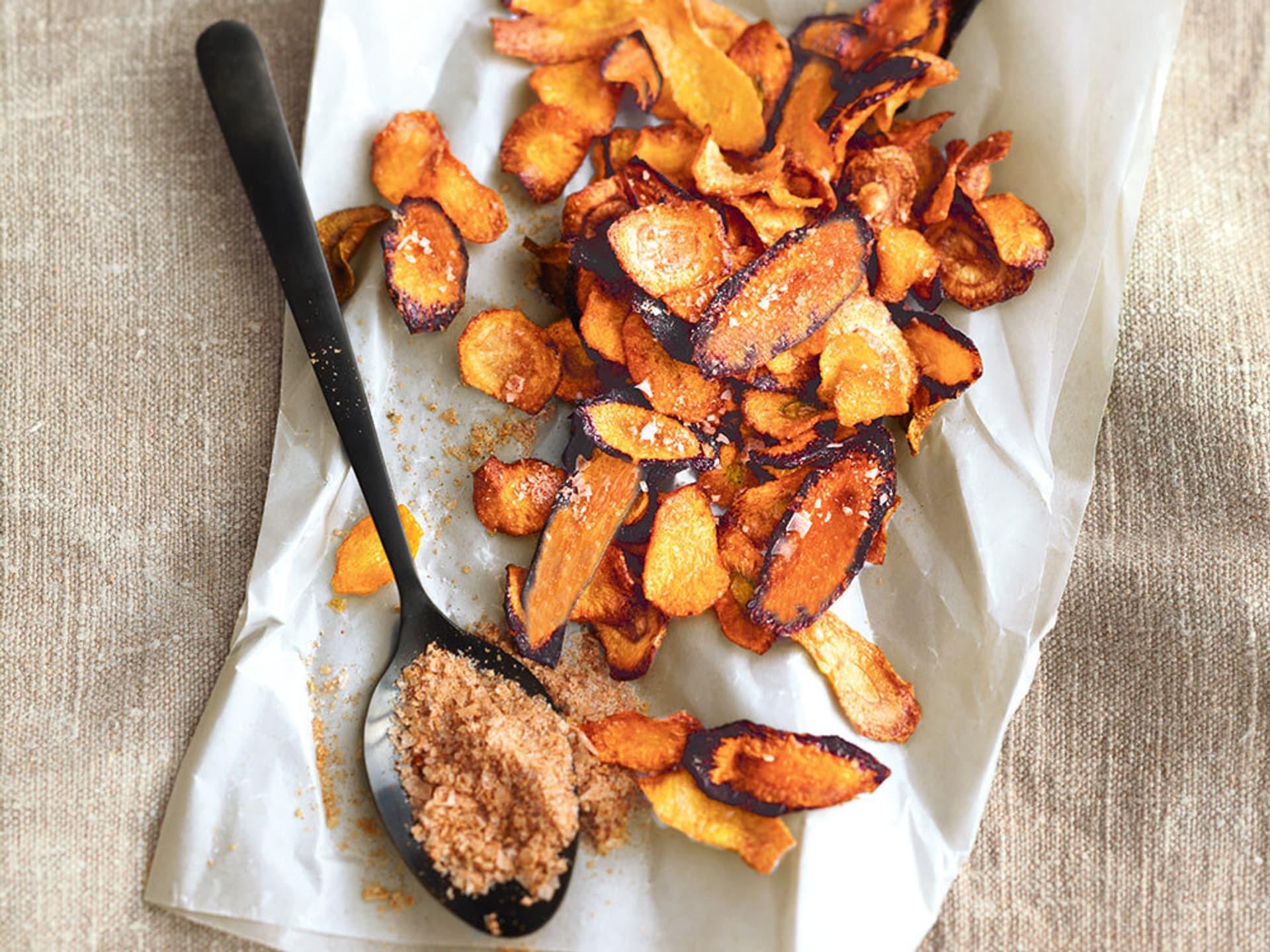 Karottenchips