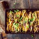 Kartoffel-Gratin mit Pastinaken