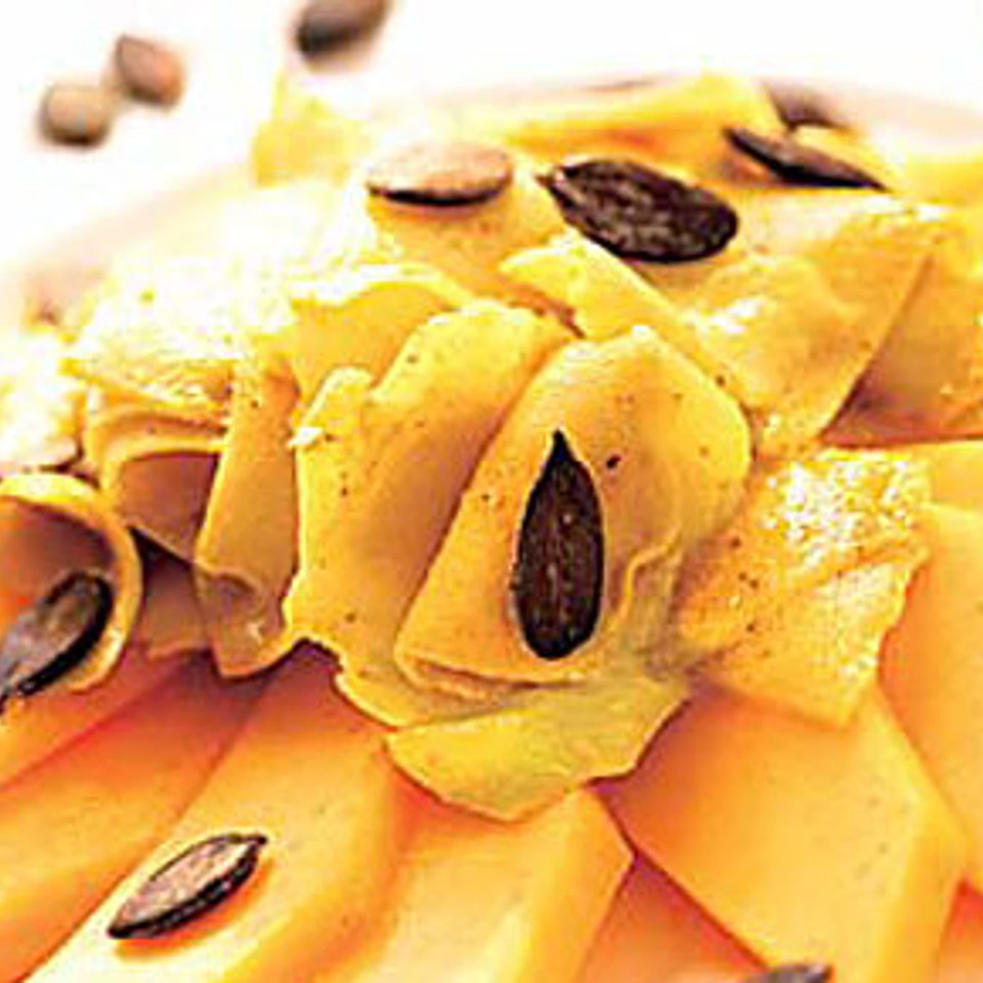 Kohlrabi mango rohkost