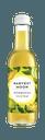 Flasche mit gelbem Inhalt