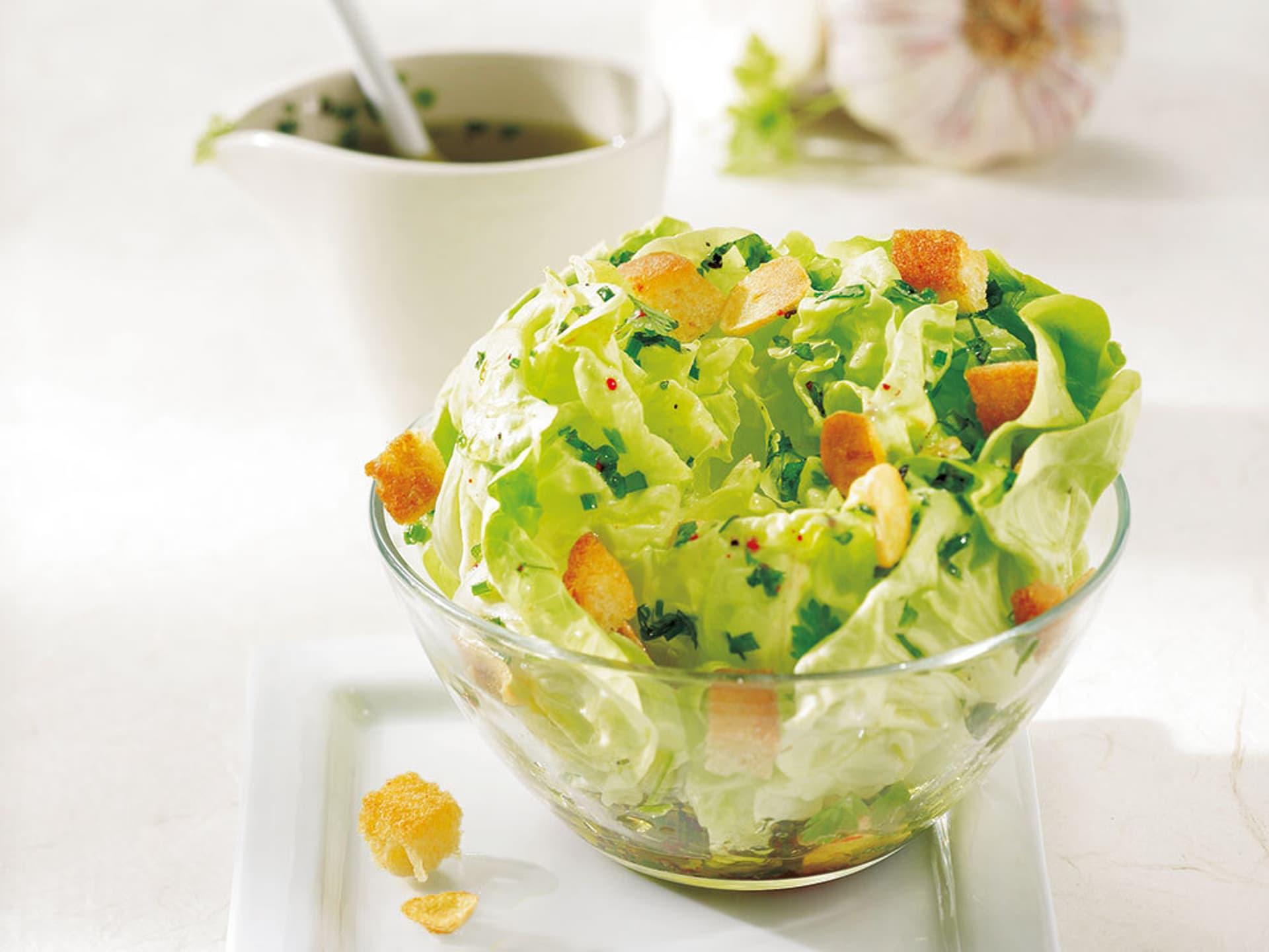 Kopfsalat im ganzen