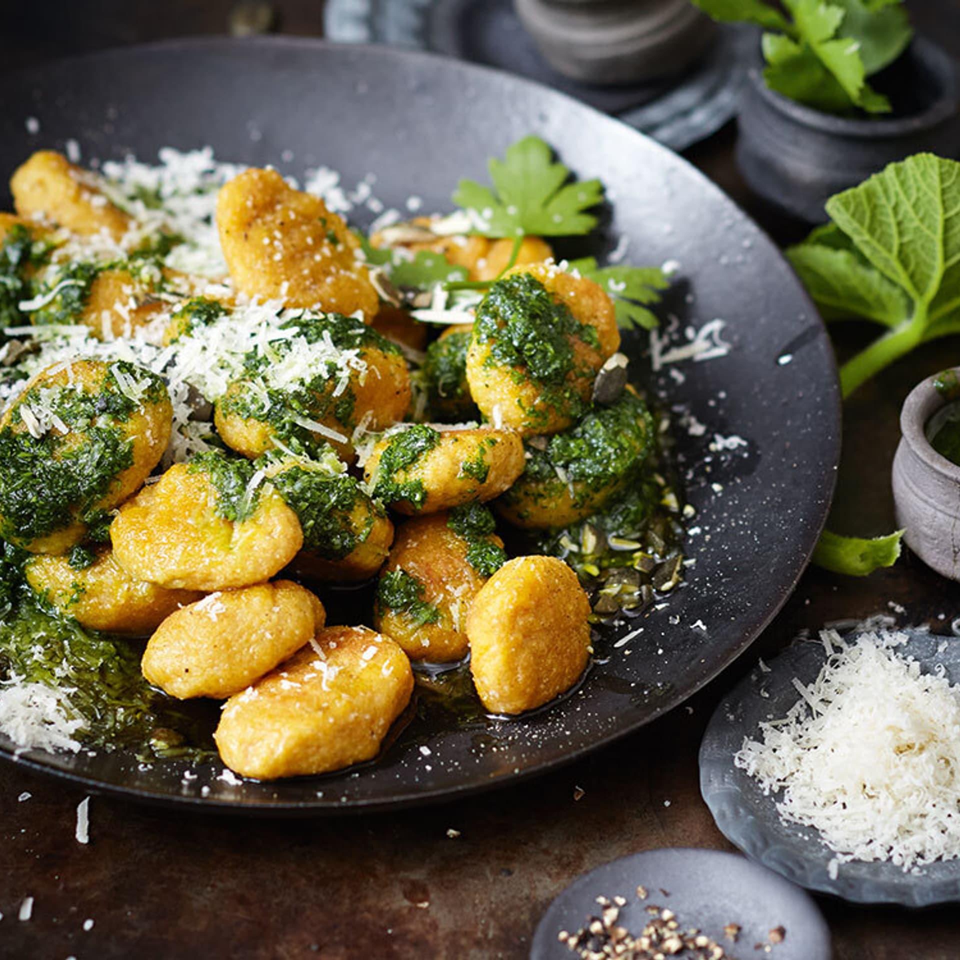 Gnocchi mit Parmesan