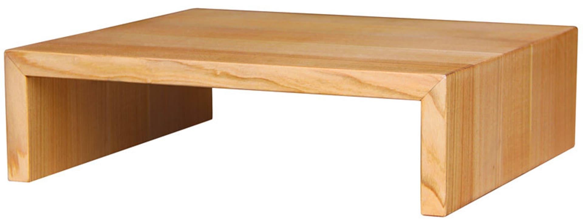 Fußbänkchen aus Holz