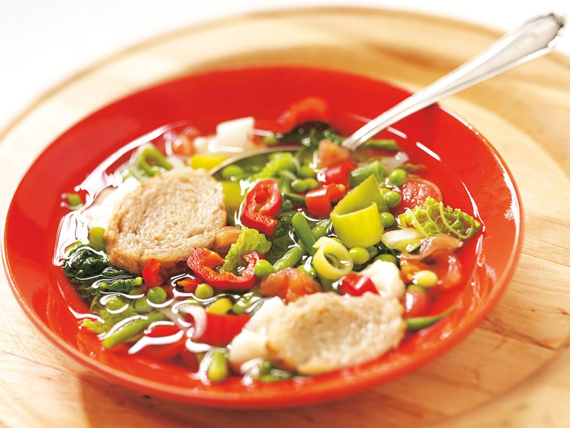 Mallorquinische Gemüse-Brotsuppe