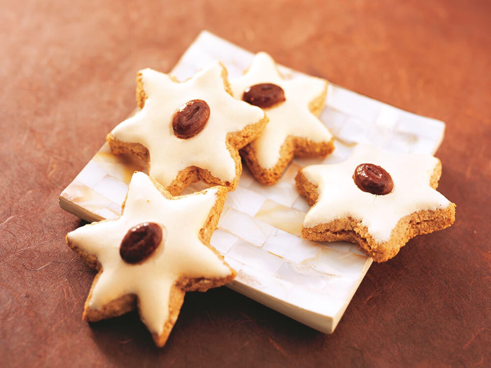 Mandel-Cappuccino-Sterne