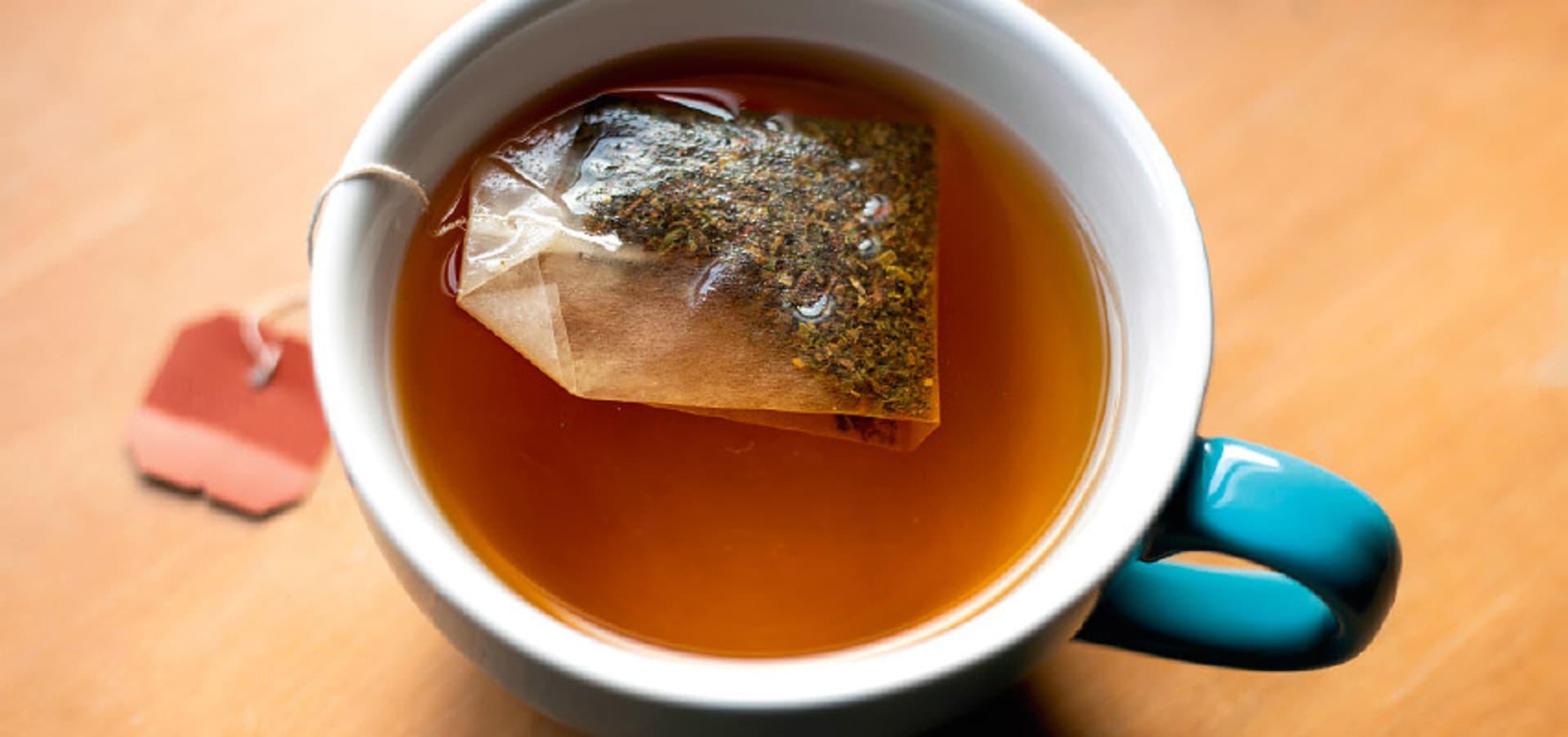 Eine Tasse Tee.