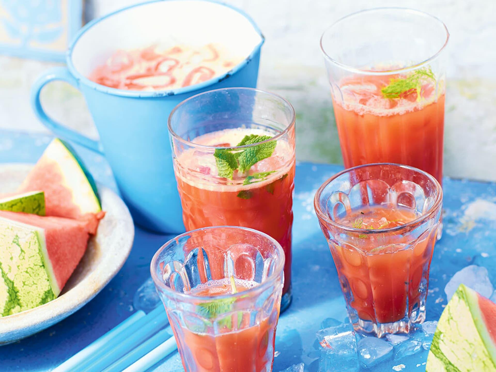 Melonen-Fencheldrink