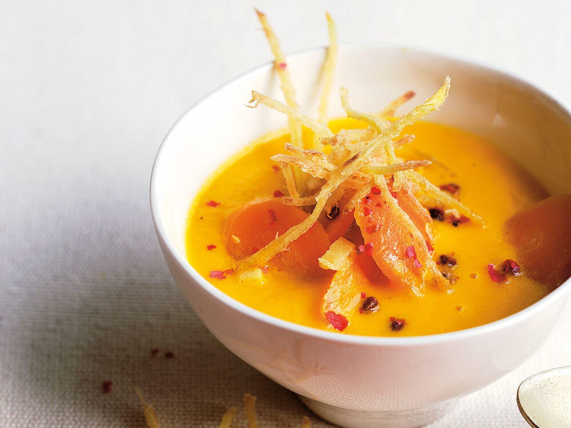 Orangene Suppe
