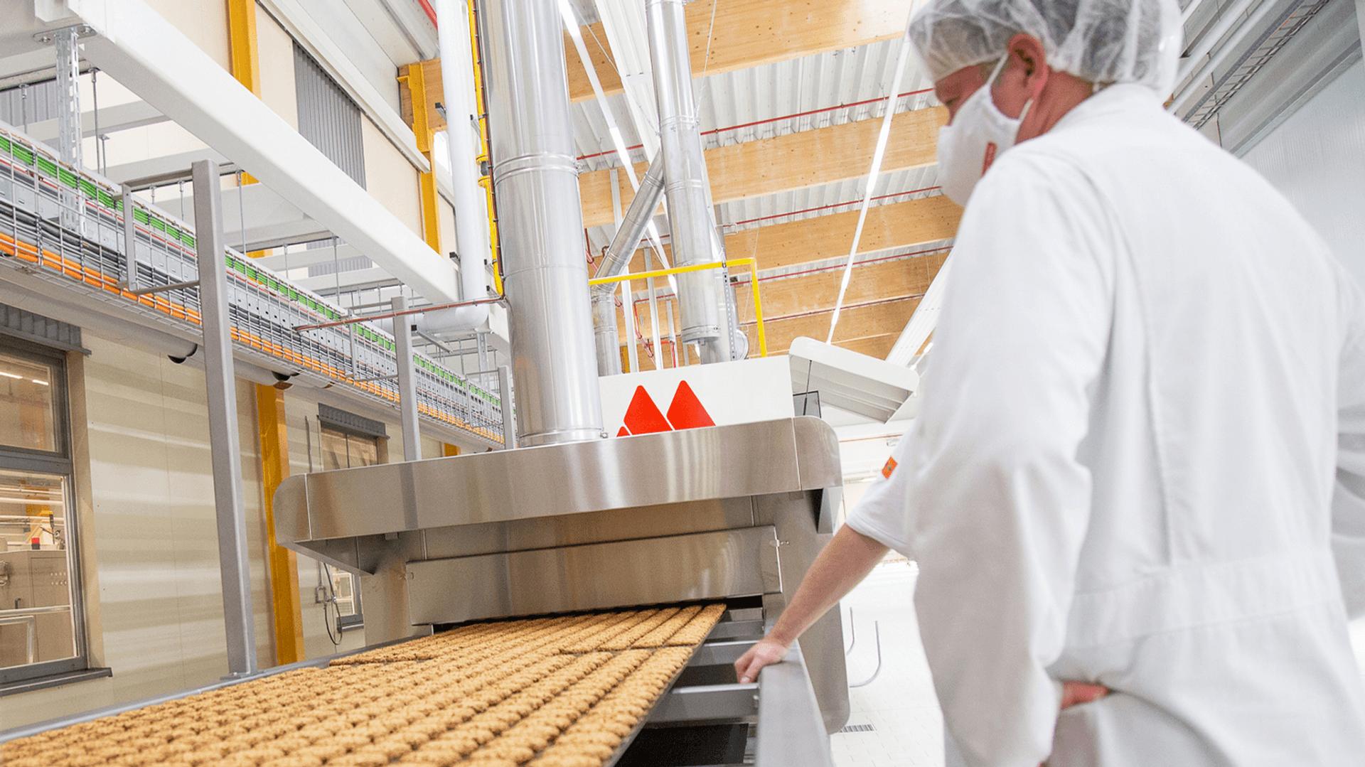 Bohlsener Mühle Keksproduktion
