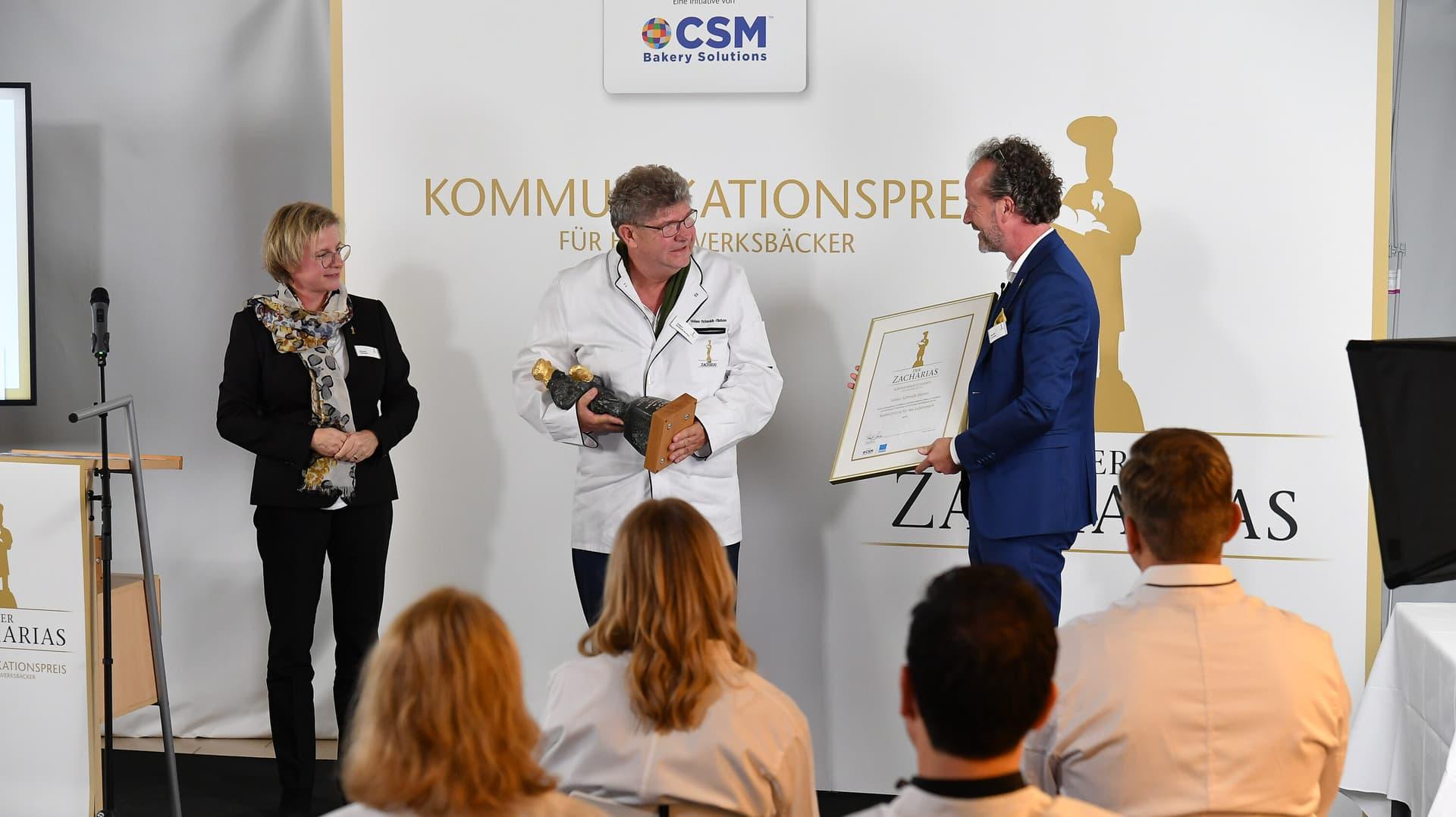 Volker Schmidt-Sköries CSM Zachharias Preis