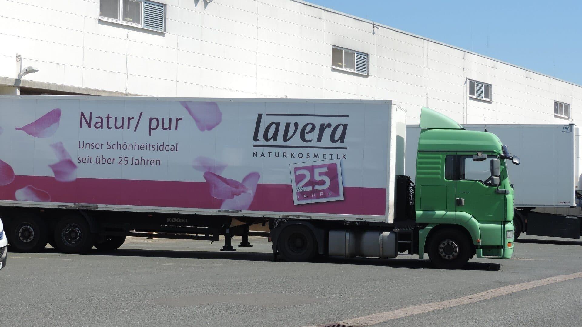 Lkw von Lavera