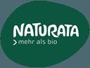 Naturata in weißen Lettern auf grünem Grund