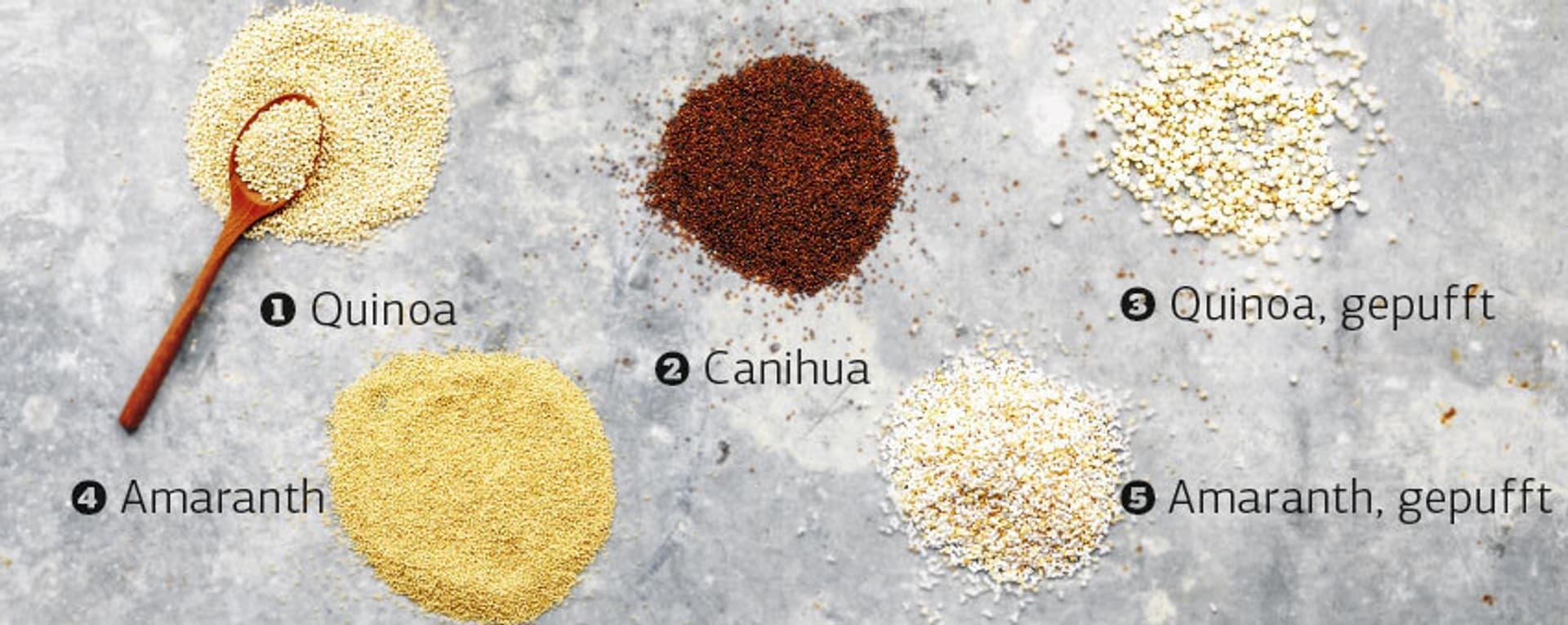 Gen quinoa tippkasten
