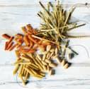 Nudeln aus Linsen, Bohnen und Kichererbsen