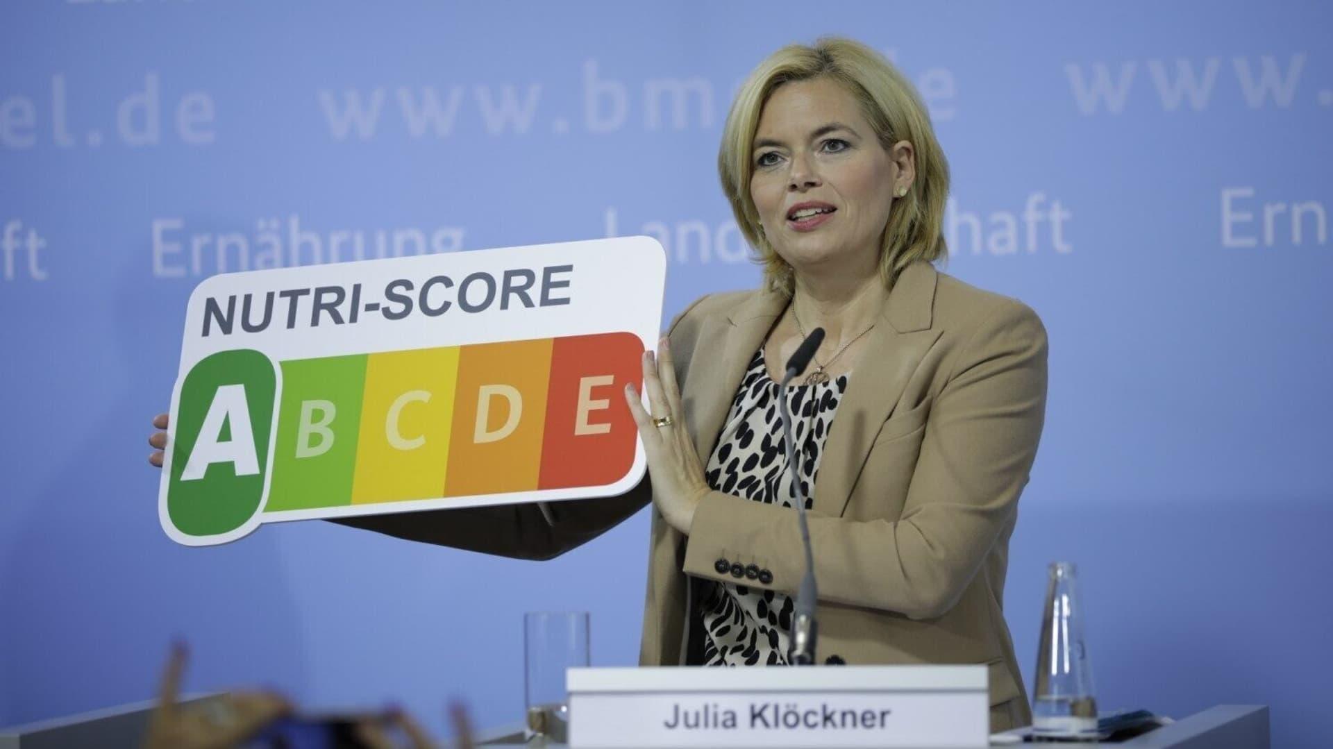 Julia Klöckner, Nutri-Score
