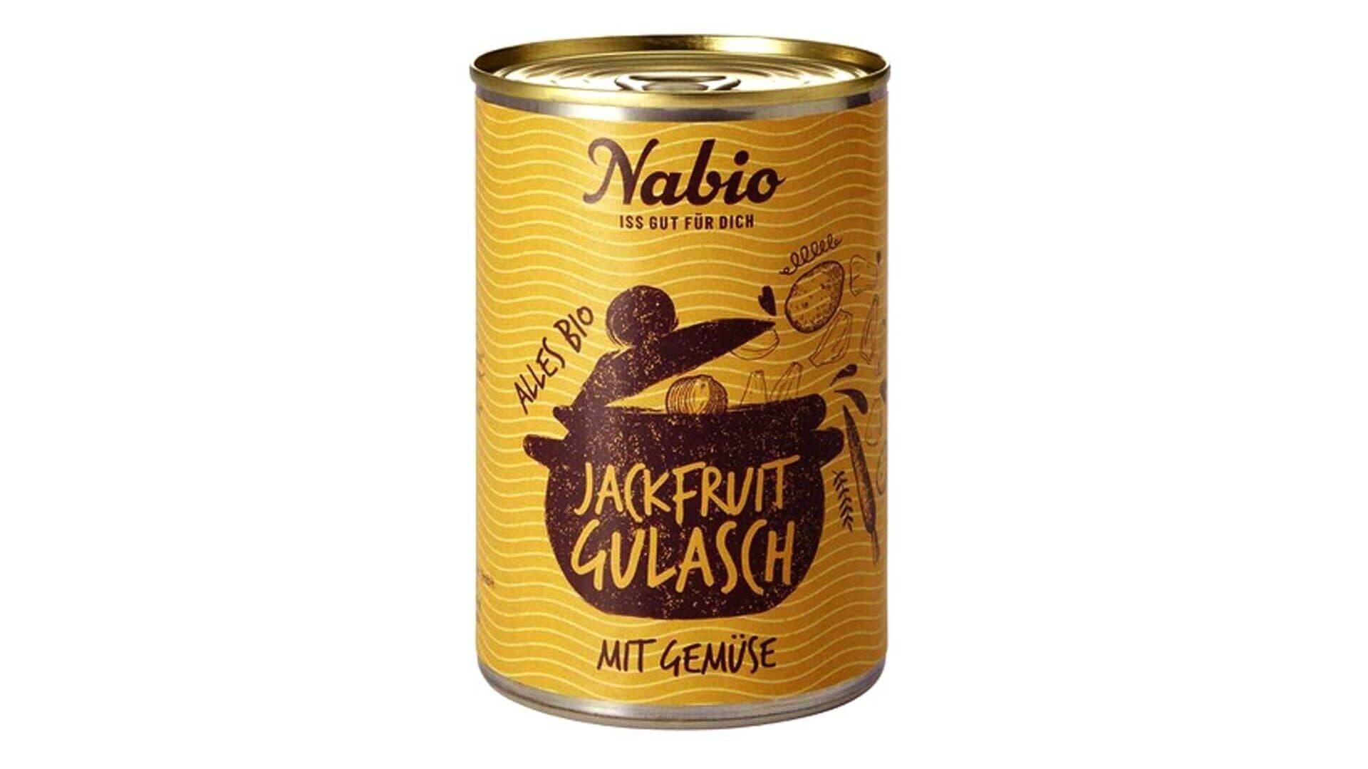 Nabio Jackfrucht Gulasch