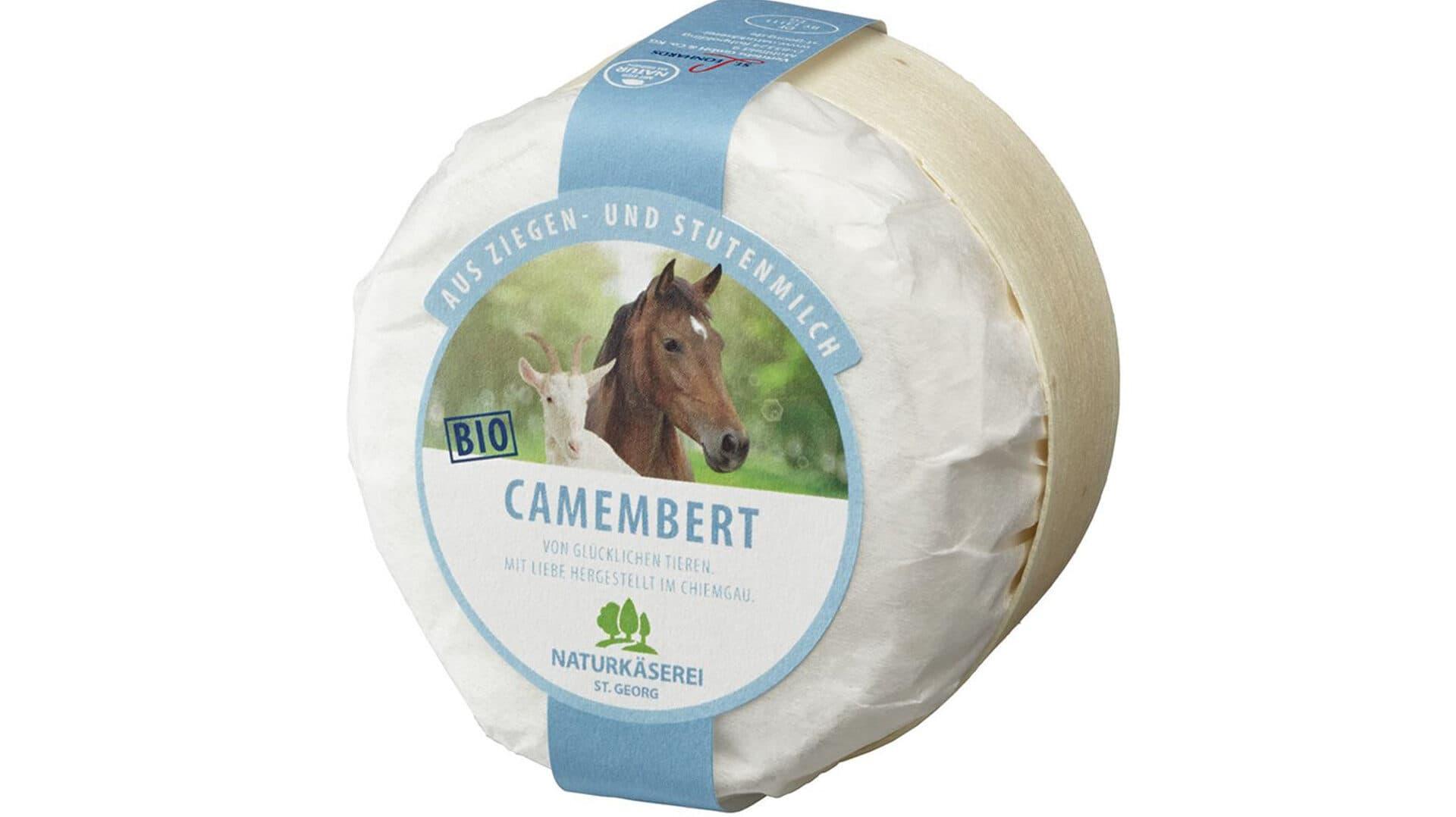 Camembert aus Ziegen- und Stutenmilch