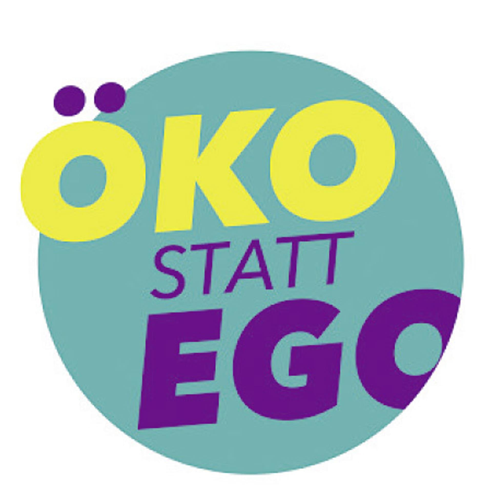 Oeko statt ego logo