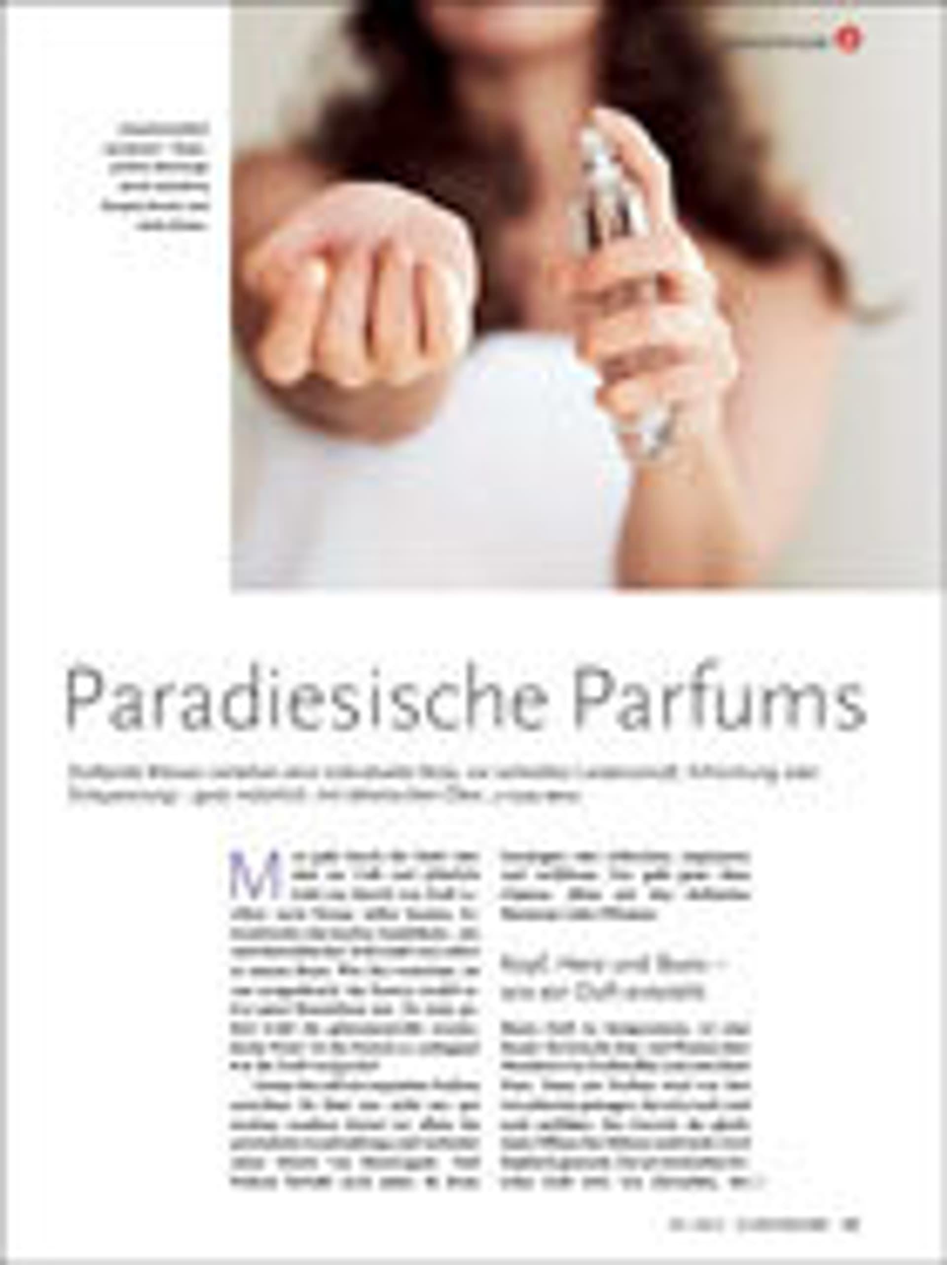Warenkunde - Parfums