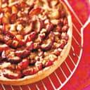 Pflaumenkuchen mit marzipan