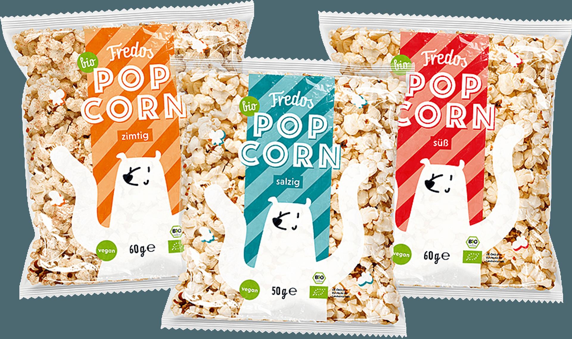 Popcorn süß salzig zimtig