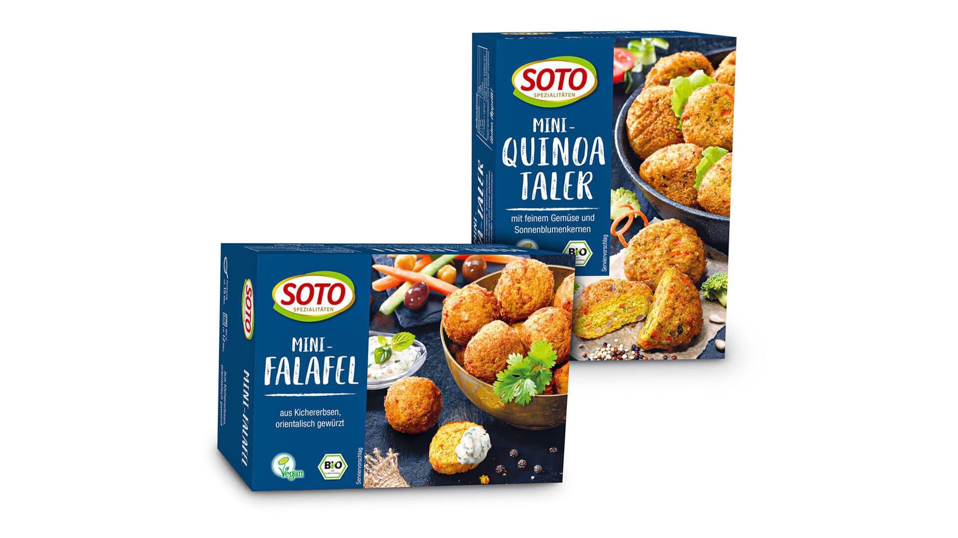 Soto Falafel und Quinoa Taler