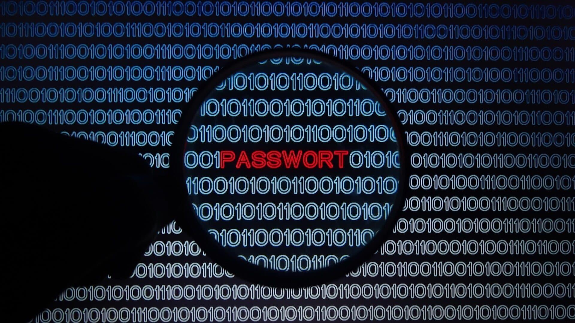Passwort, Hacker, Datenschutz, Cyberkriminalität