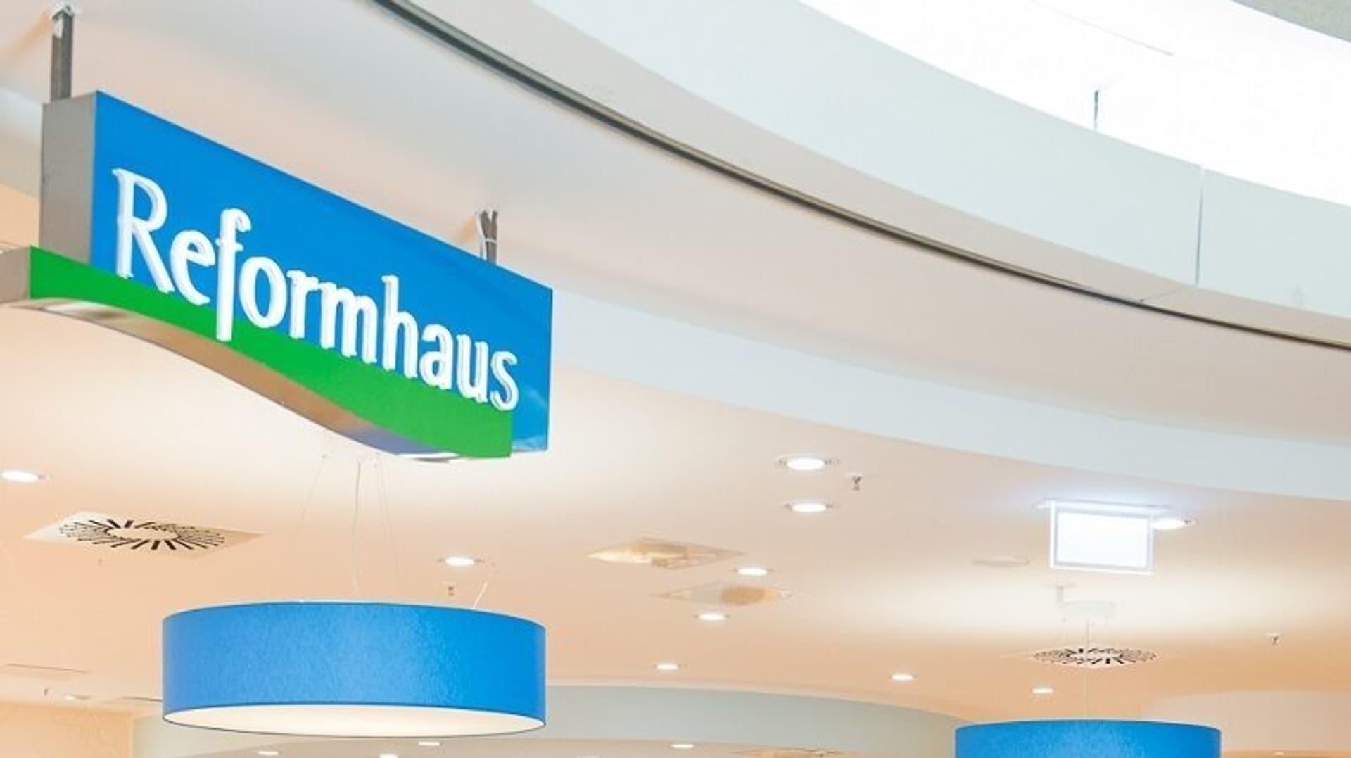 Reformhaus Schild c Reformhaus