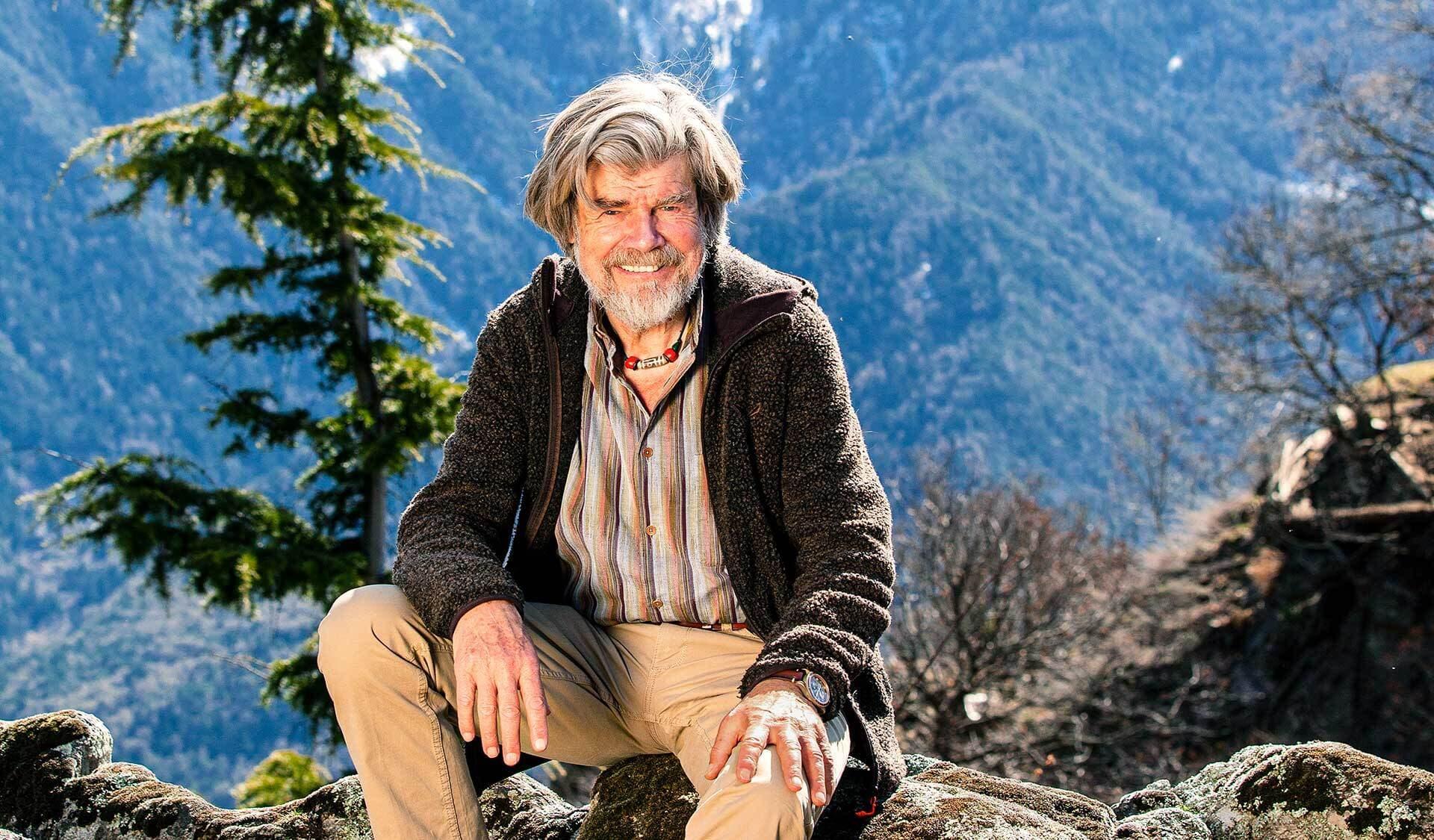 Bergsteoger Reinhold Messner im Porträt