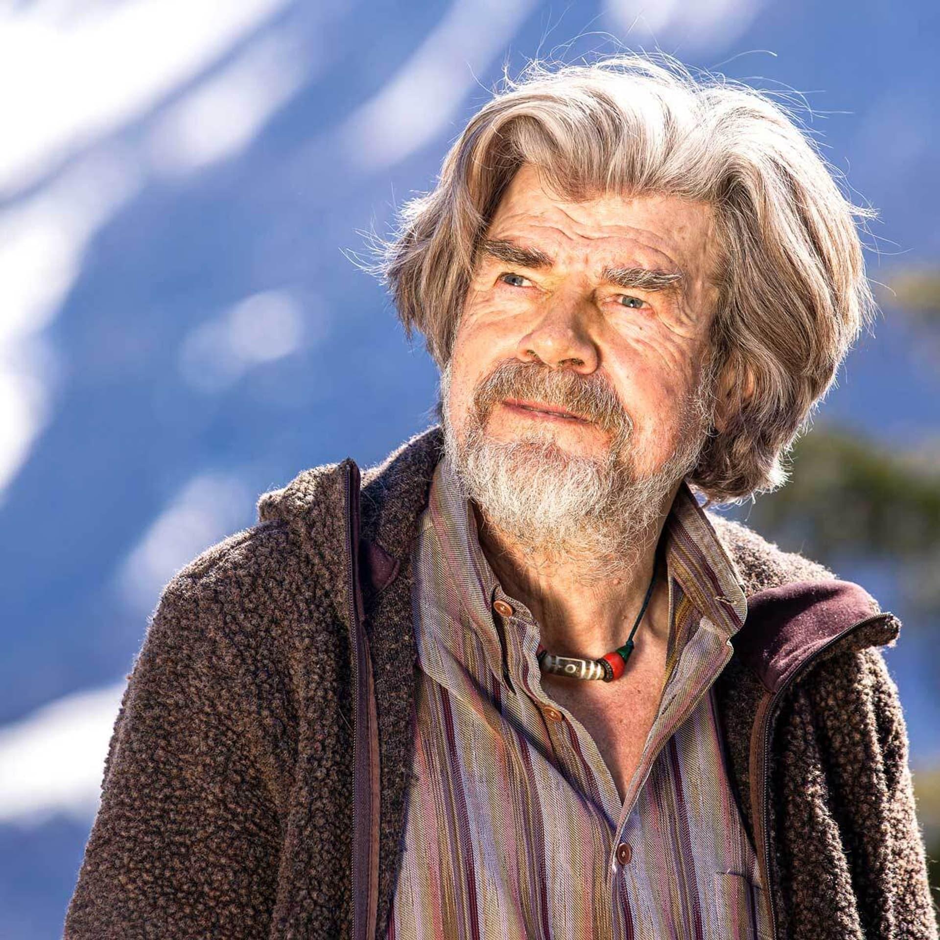 Bergsteiger Reinhold Messner im Porträt