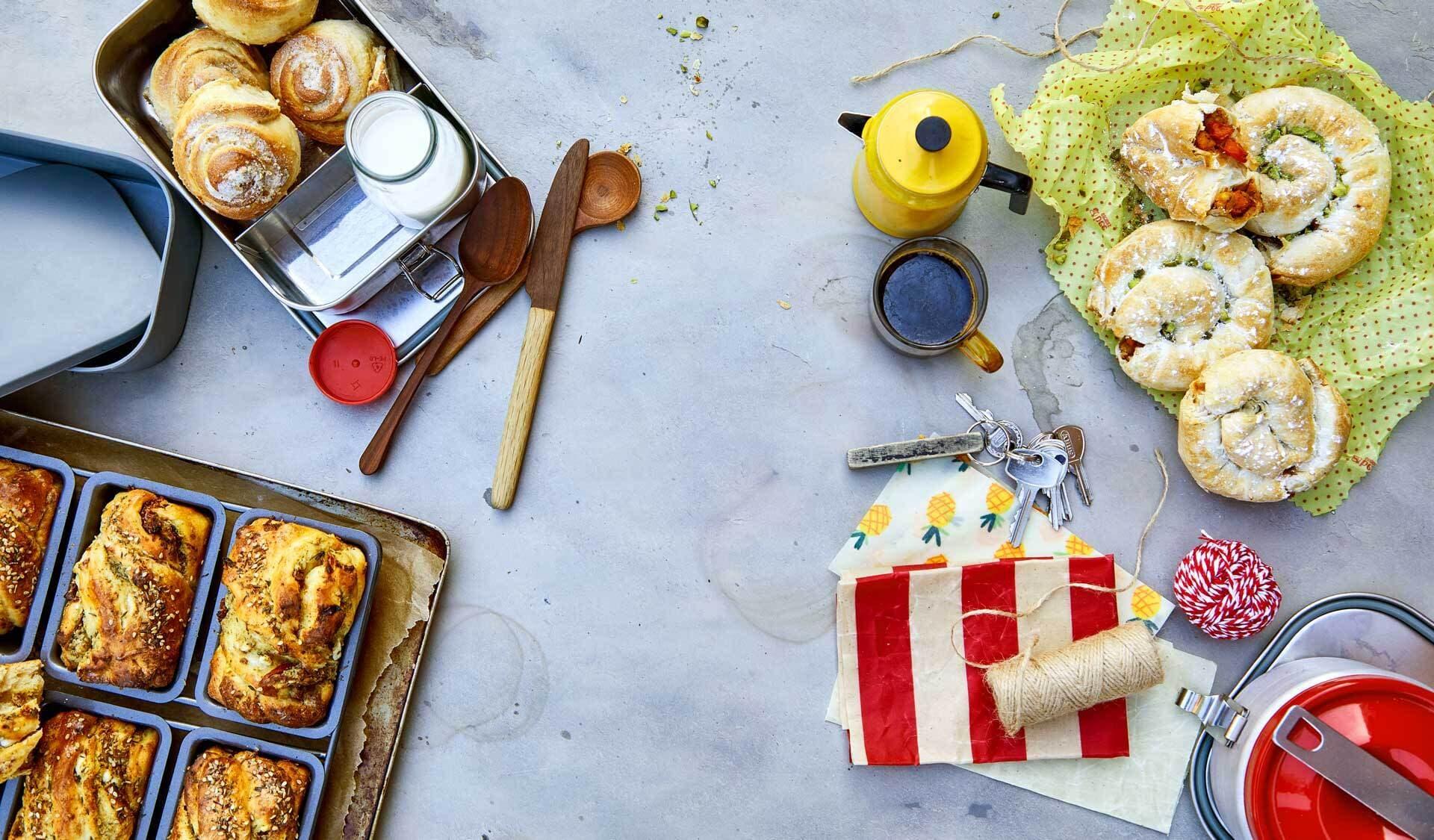 Rezepte zum Mitnehmen (© Fotos&Rezepte: Yelda Yilmaz)